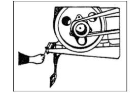 Натяжение ремней привода для мотоблока Кентавр