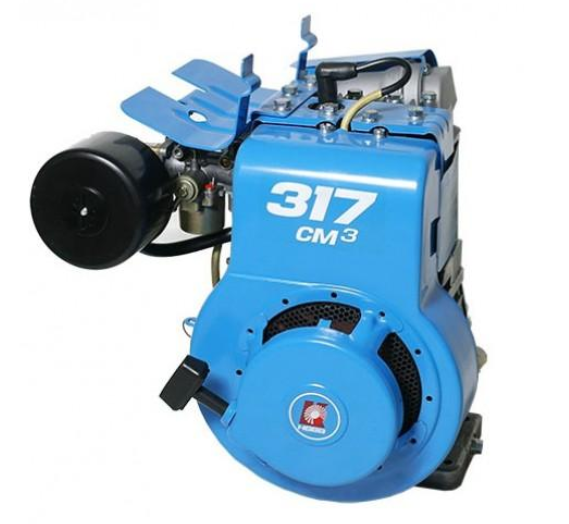 Двигатель для снегохода из культиватора