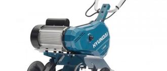 Культиватор Hyundai T2000E