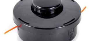 Виды катушек для бензиновых и электрических триммеров