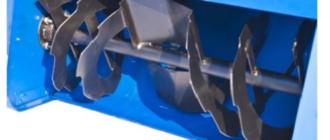Что такое двухступенчатая система шнеков снегоуборщиков