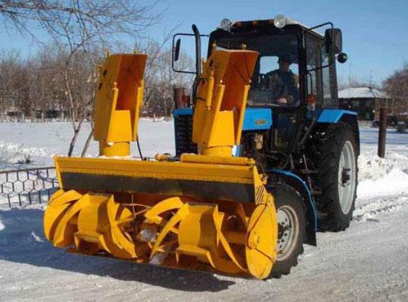 Фрезерно-роторные снегоуборщики