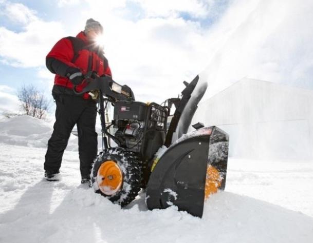 Области эксплуатации колесных и гусеничных снегоуборщиков