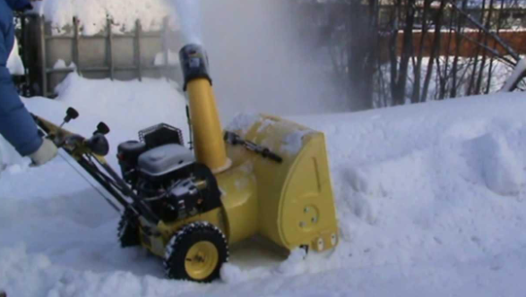 Снегоуборочная машина Калибр МУ-5,5, характеристики