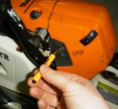 Ремонт карбюратора штиль 180 своими руками видео фото 82
