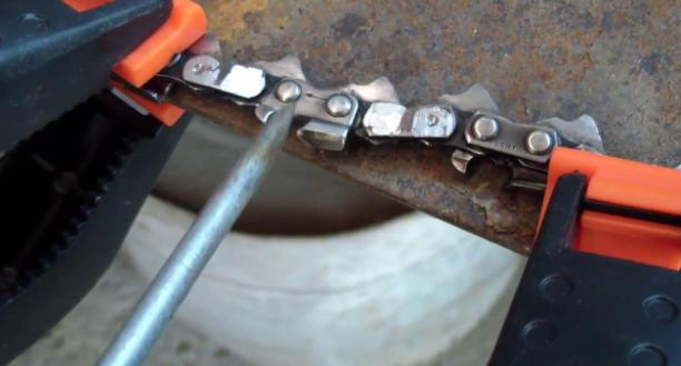 Как укоротить цепь бензопилы своими руками