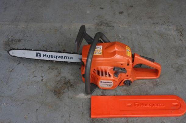 Комплект поставки бензопилы Хускварна 142