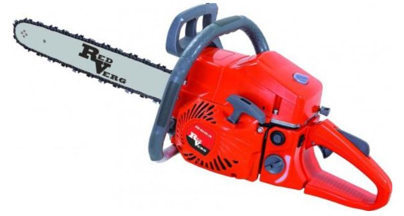 Бензопила Redverg RD-GC0558-18