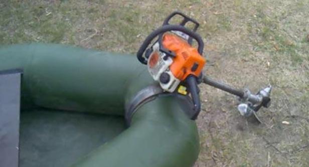 Как правильно использовать мотор-насадку на бензопилу