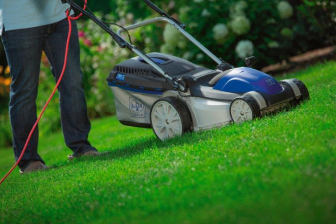Электрическая газонокосилка Lux Tools E 1400